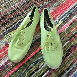 Keds Bright Light Green Casual Tennis Shoes
